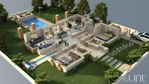 mansion floor plans fascinating rendering floor plan 3d xline 3d visualization liyah