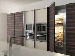 twenty tall units with integrated appliances and wine cooler