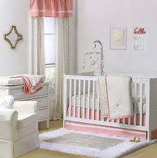 Pink And Gold Baby Bedding Zig Zag Crib Bedding Ebay