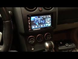 2008 2010 nissan rogue stereo install pioneer avh x2700bs and