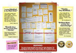 fake doctor u0027s notes u0026 excuses the internet u0027s 1 resource