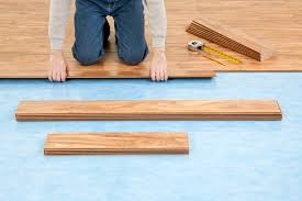 Laminate Or Real Wood Flooring Pre Attached Vs Separate Underlayment Laminate Floor