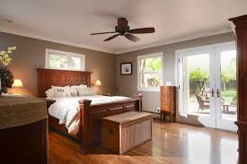 Master Bedroom Ceiling Fans by Traditional Master Bedroom With French Doors U0026 Ceiling Fan In San