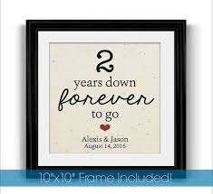 1 year anniversary gifts for boyfriend the 25 best second year anniversary gift ideas on