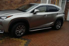 lexus nx300h uk lexus nx300h 2015 onwards u0027premier u0027 side steps direct 4x4