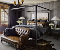 masculine bedroom masculine bedroom with charcoal and leather bedroom pinterest