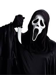 scream halloween mask ghost face mask with knife dons hobby shop