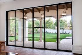 modern sliding glass doors doors inspiring steel french patio doors steel french patio