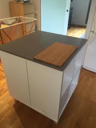 meuble central cuisine un nouvel ilot central cuisine avec kallax ikea furniture hacks
