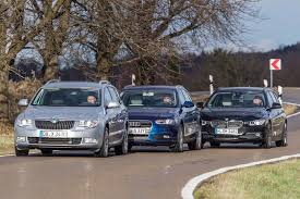 audi a4 comparison bmw touring vs audi a4 avant vs skoda superb combi comparison test