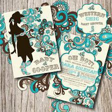 western baby shower western baby shower invitations plumegiant