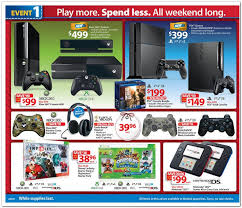 xbox 360 black friday 2017 wal mart black friday ad leaked 149 ps3 99 xbox 360 99 2ds