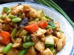 amidon cuisine les noeuds d amidon sautés chao ge da sont une sorte de pates
