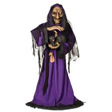 Halloween Witch Animated Halloween Clearance Closeout Free Shipping Life Size Animated