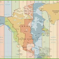 map of time zones in the usa printable printable map of the united states time zones usa time zone maps