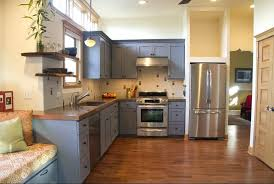 color ideas for kitchens color paint kitchen cabinets 1 neutral gray is clean and modern