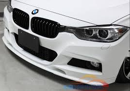 bmw f30 front spoiler aliexpress com buy painted 3d style front lip spoiler for bmw