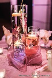 Floating Candle Centerpiece Ideas Candle Centerpiece Idea For A Blush Wedding Bella Sera Denver