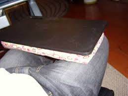 Diy Laptop Desk Diy Basic Lapdesk 6 Steps With Pictures