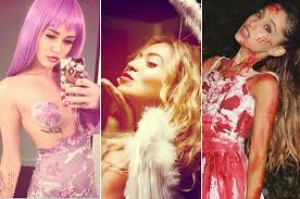 Ariana Grande Costume Halloween Good Bad U0026 Trashy Celebrity Halloween Costumes