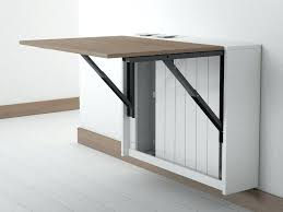 Folding Wall Mounted Table Wall Attached Table Wall Mounted Drop Leaf Table Block Wall