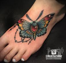 color moth with gems butterfly by