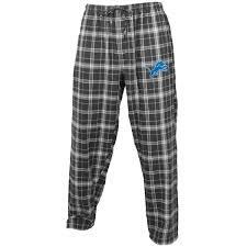 s detroit lions concepts sport charcoal gray ultimate plaid