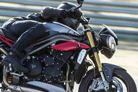 speed triple range triumph motorcycles