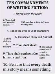 ten resume writing commandments 617 best writing images on imaginative writing