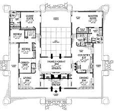 U Shaped House Plans With Pool In Middle Yes Finally Found The U Shape House I Want Just Need To Change