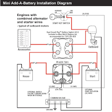 battery isolator wiring diagram manufacturers ignition switch