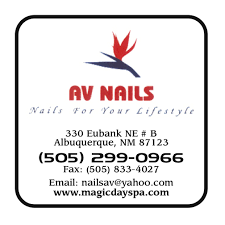 av nails nail salons u0026 manicure albuquerque nm