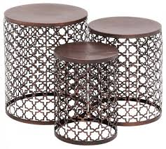 Metal Patio Side Table Outdoor Metal Side Table Great Ideas 2 Beautiful Metal Outdoor