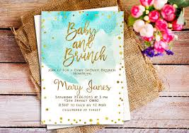 brunch invites baby shower brunch invitation a brunch for baby invitation