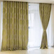 Window Curtains Green Window Curtains 2018 Luxury Voile Curtains Blackout Curtains