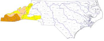 Map Of Western North Carolina The Impact Of Drought On Western North Carolina Bpr