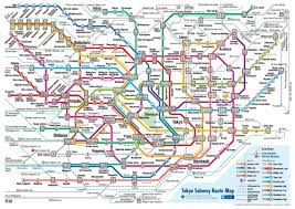 Barcelona Subway Map by Tokyo Subway Map