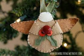 Christmas Decoration For Baby by 70 Diy Felt Christmas Tree Ornaments Shelterness