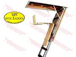 ease of use attic ladder lift