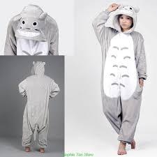 Totoro Halloween Costume Aliexpress Buy 2014 Unisex Pajamas Cosplay Anime Costume