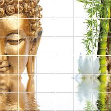 Stickers Salle De Bain Bambou by Stickers Carrelage Bouddha Bambou Pas Cher