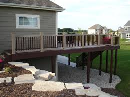 Two Story Deck Custom Built Decks Derse Builders Of Southeastern Wisconsin