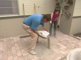 Large Pavers For Patio by How To Install Concrete Pavers How Tos Diy