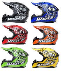 wulf motocross boots wulfsport flite xtra kids helmet