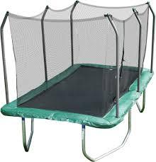 skywalker trampolines 14 u0027 rectangle trampoline with enclosure