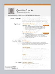 Creative Resume Examples by 110 Best Cv Template Images On Pinterest Resume Templates Cv