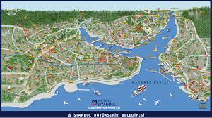 Bosporus Strait Map Tourist Maps Of Istanbul Turkey Free Download 2018 Istanbul