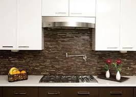 kitchen backsplash tile brown glass mosaic tile kitchen