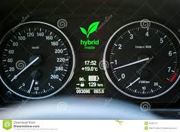 car dashboard hybrid car dashboard stock photo image 53280147