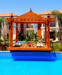 pool gazebo designs comely landscaping ideas with big and modern